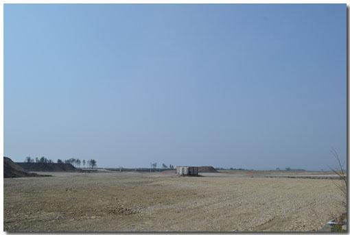 跡形もない矢本海浜緑地