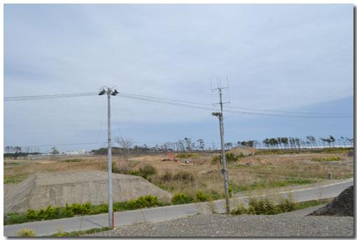 岩沼海浜緑地の跡